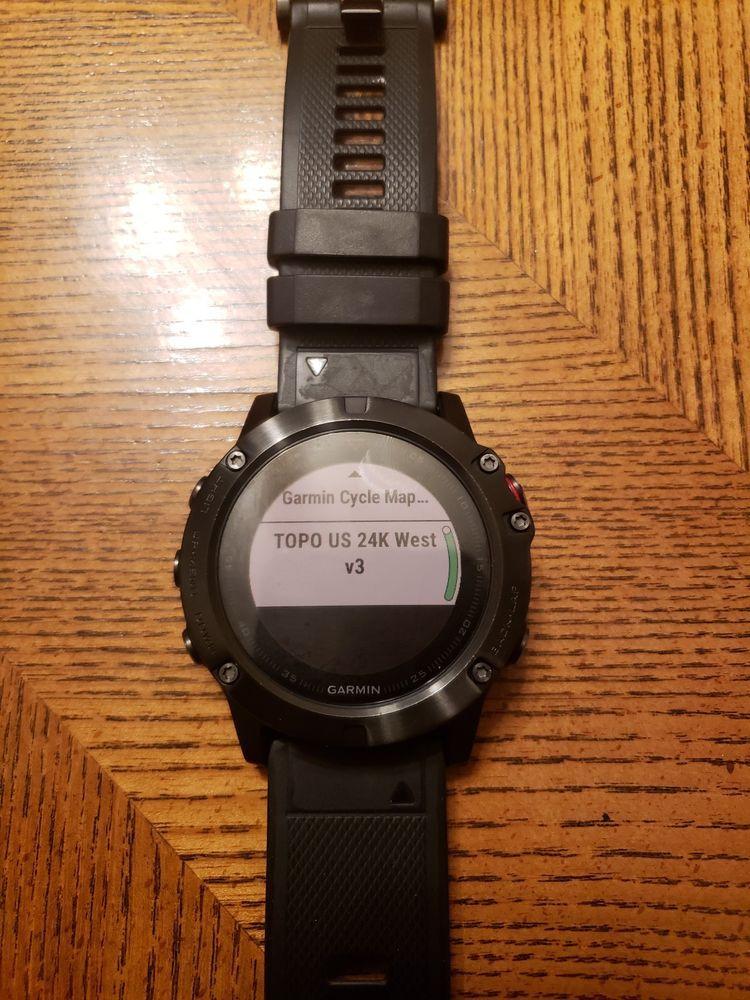 Garmin Fenix 5x 010 01733 01 Sport Gps Watch Slate Gray Sapphire