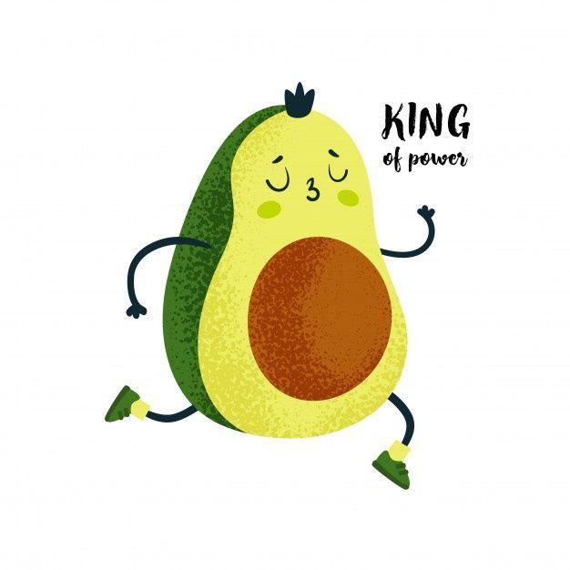 AVOCADO, 3 best Premium graphics on Freepik - cute avocado illustration -
