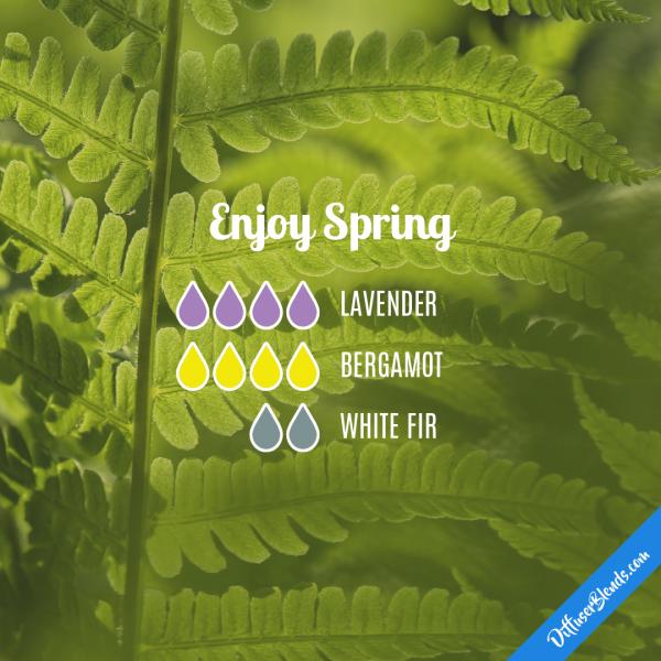 Enjoy Spring - Essential Oil Diffuser Blend