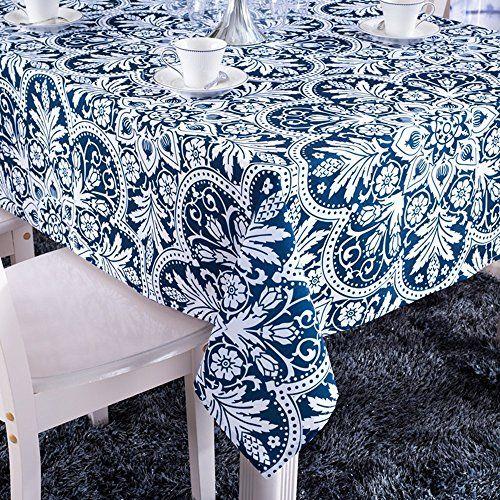 Colorbird Vintage Royalty Washable Floral Print Rectangle Tablecloths For Sale Table Covers Wedding Table Cloth