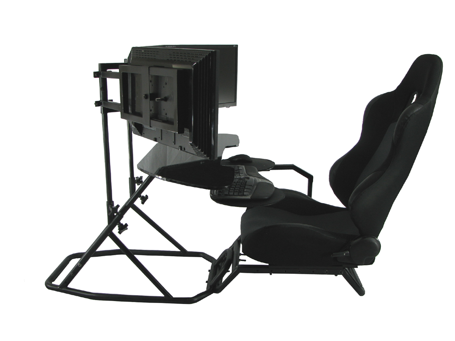 oZone gaming cockpit setup as an ergonomic workstation Obutto