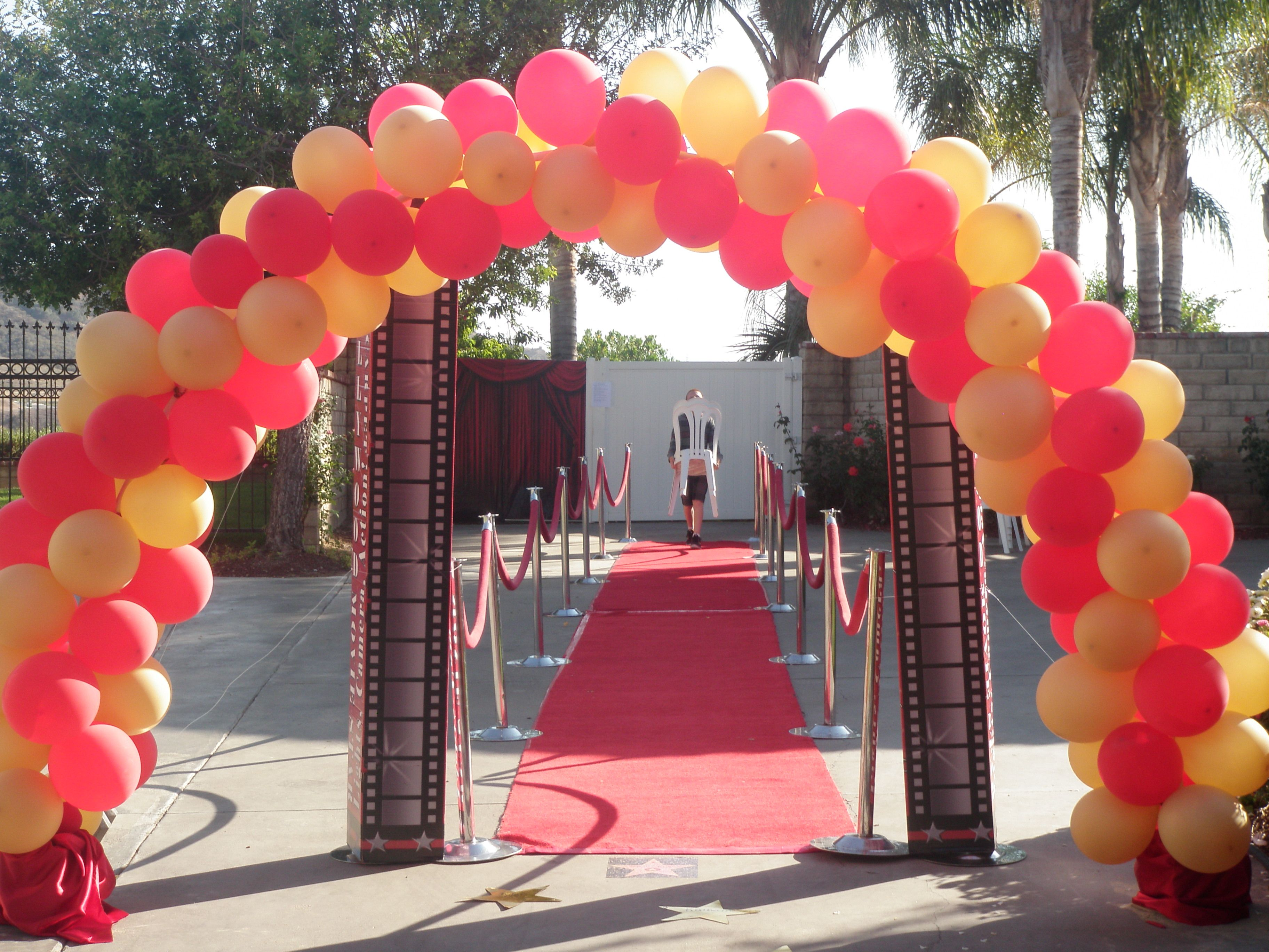 Red Carpet Graduation Party