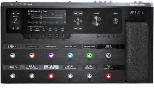 The New Line 6 Helix Multi Effects Guitar Pedal Guitar Pedals Line 6 Helix Music Centers