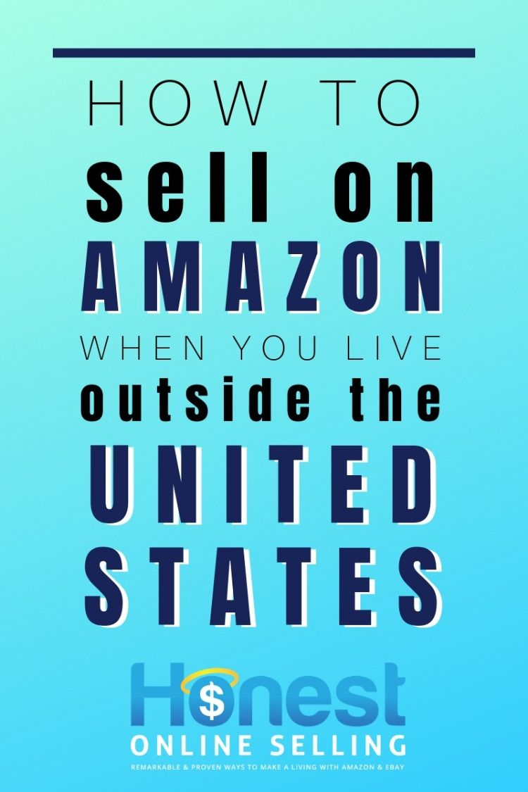 Sell On Amazon From U K Or Australia Or China Etc Sell On