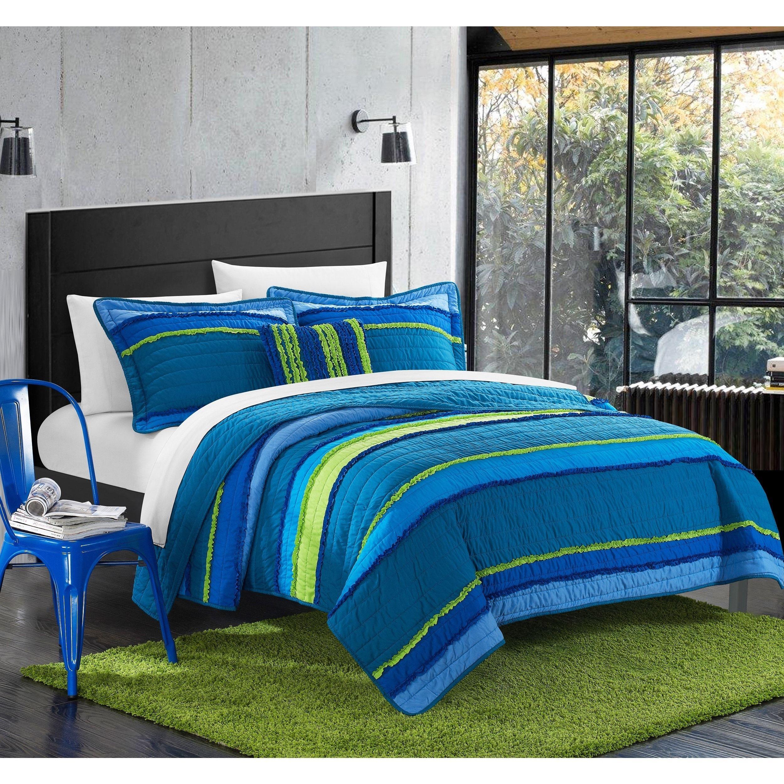 Chic Home Catticott 4 piece Quilt Set