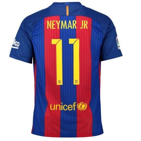 42180eafd593c Camiseta de Neymar JR del FC Barcelona 2016 2017