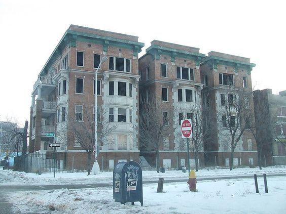 Abandoned Apartment Building Detroit Mi Abandoned Places Apartment Building Detroit Houses