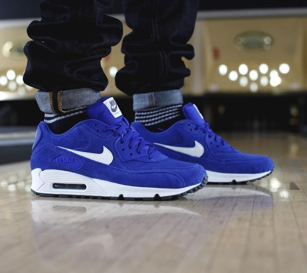 904b535802 Air Max 90 Royal Blue/ White | AIR | Sneakers nike, Nike air max ...