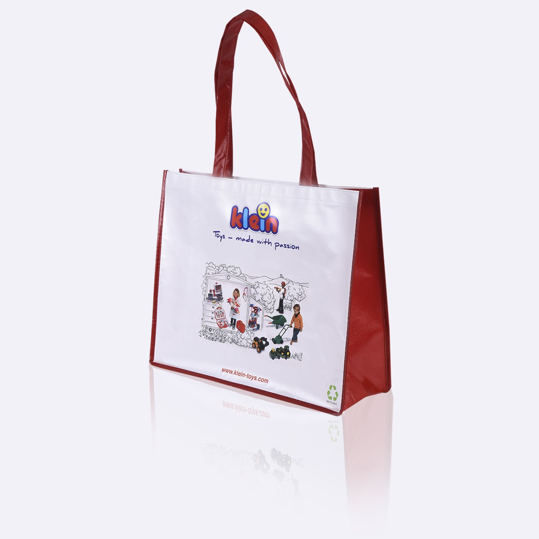 Laminated Non Woven Bag Cmyk Printed Full Colour