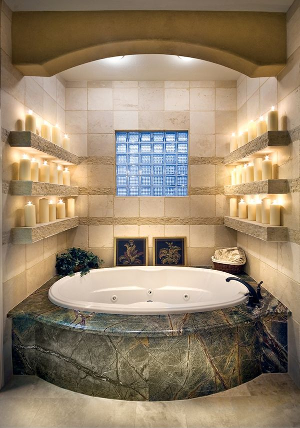 43 Most fabulous mood-setting romantic bathrooms ever ...