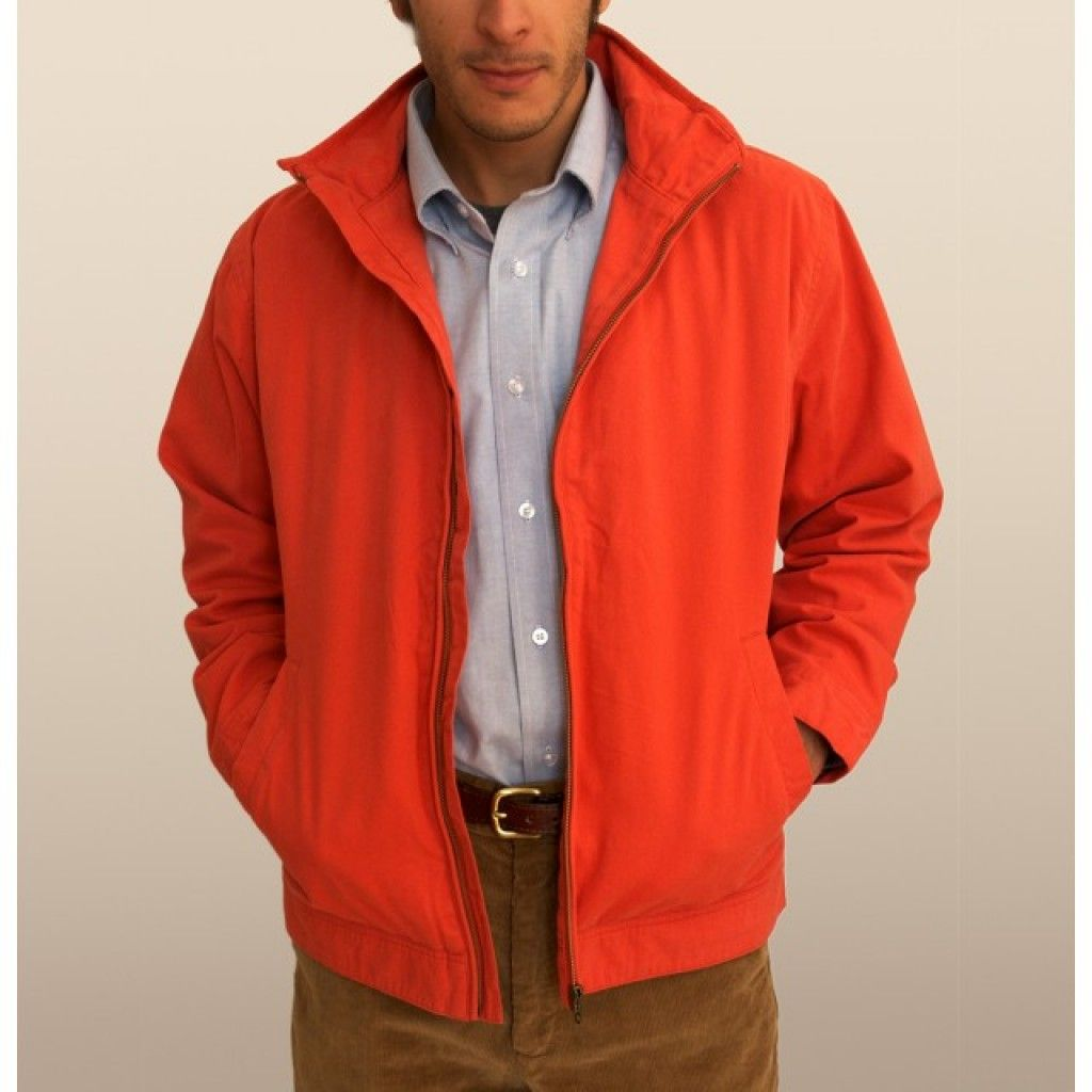 Mariner Jacket in Island Red by Castaway Clothing