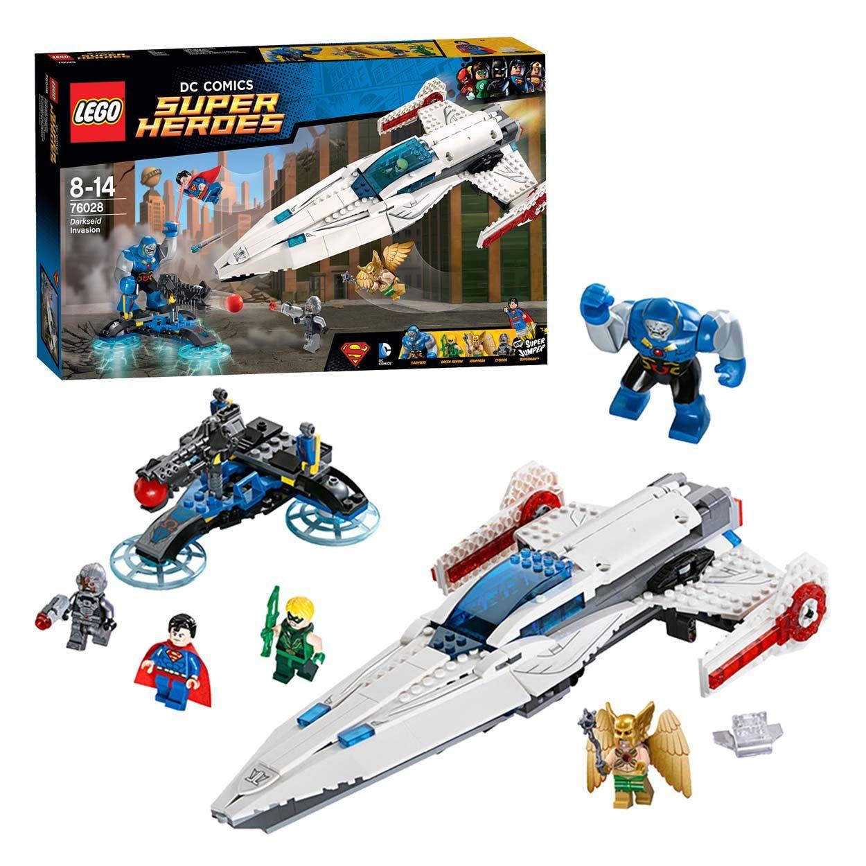 Lego Super Heroes 76028 Darkseid Invasie