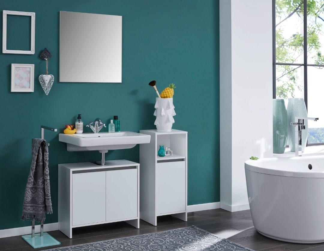Ein Komplettes Badmobel Set Fur Nur 119 99 Euro Versandkostenfrei Jetzt Die Badkombination Basix Fur Dein Badezimmer Bathroom Vanity Vanity Bathroom