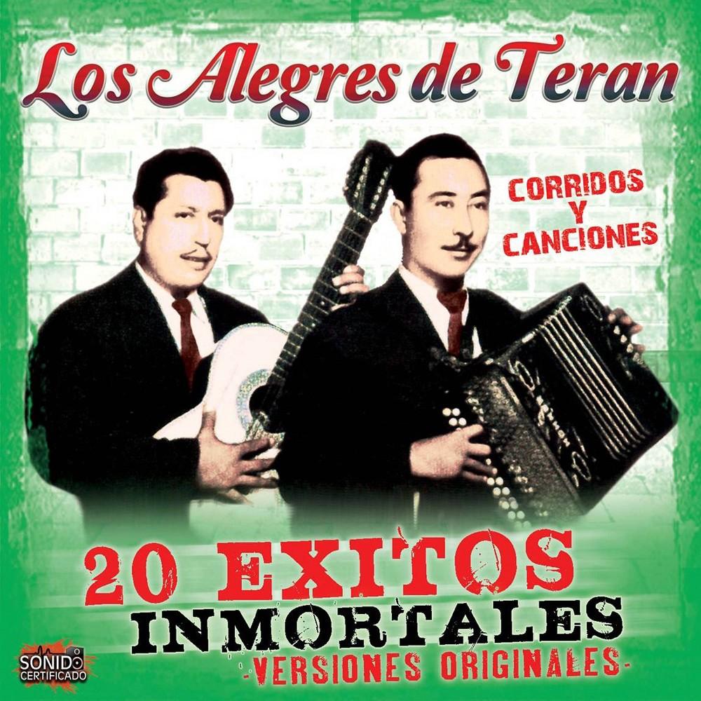 Los Alegres de Teran - 20 Exitos Inmortales (CD)