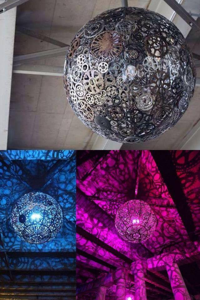 Industrial Disco Ball Ceiling Fan Light Kit Industrial Ceiling Fan Fan Light Kits
