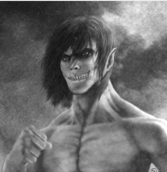 Eren Yeager Attack titan Shingeki no kyojin