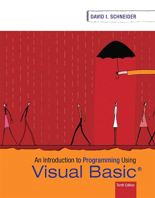 Introduction to programming using visual basic 10th edition introduction to programming using visual basic 10th edition schneider test bank test banks solutions manual fandeluxe Image collections