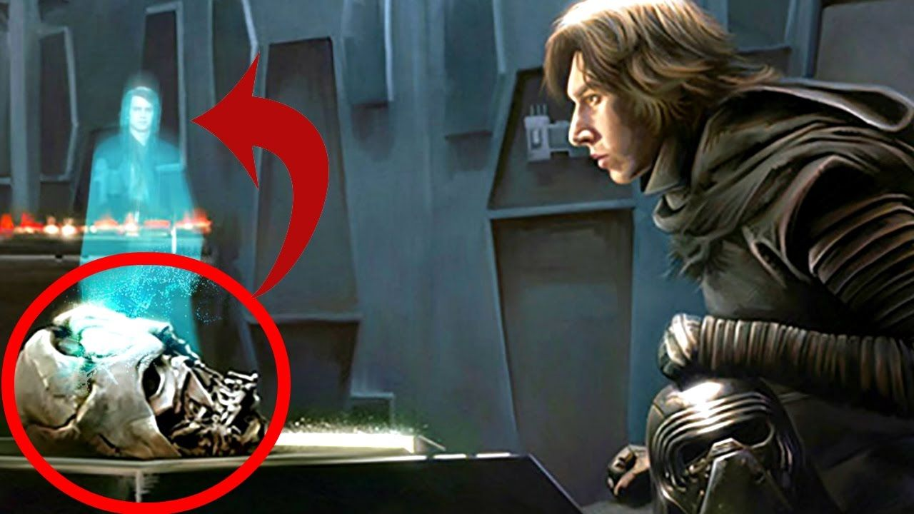 Cómo Kylo Ren Obtuvo la Máscara de Darth Vader - Star Wars Apolo1138