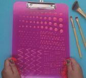 Photo of 48 Trendy Diy Makeup Pinselreiniger Board Make Up#board #diy #makeup #pinselrein…