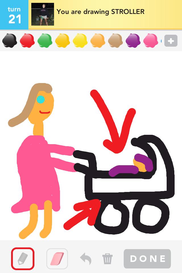 Draw Something - Damn...I'm getting good at this!