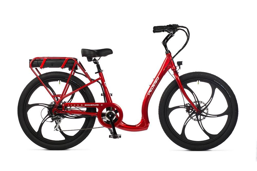 Pedego Boomerang Plus Low Step Electric Bike Pedego Electric Bikes Electric Bike Bike Interceptor