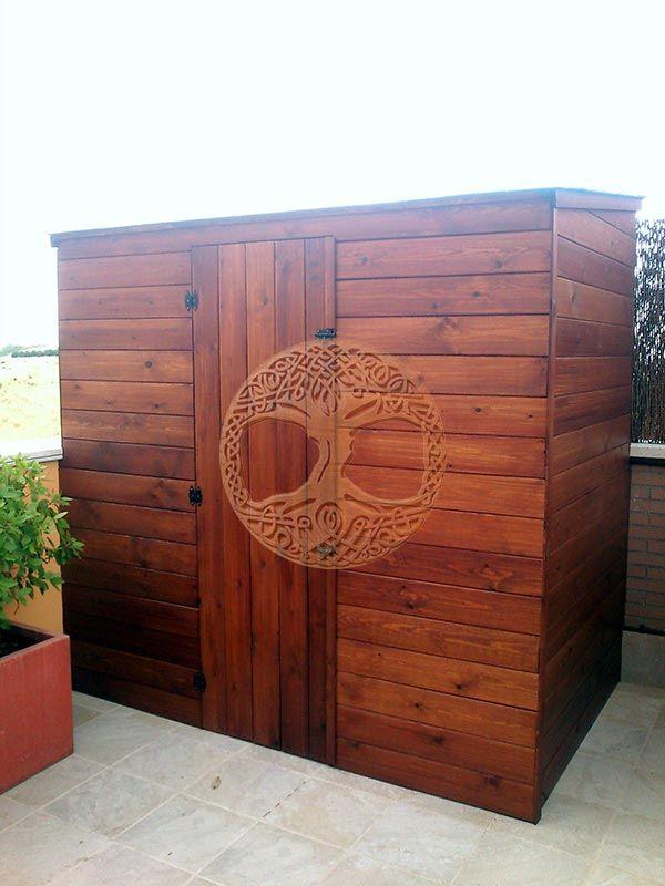 Armarios exterior terraza buscar con google terraza pinterest - Armario de madera para exterior ...