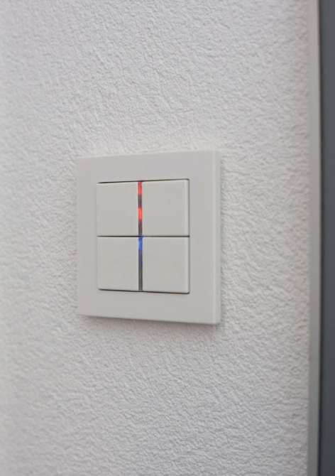 Jung Smart Panel Design Switches Smart Control Room Controller Technology For Home And Hotel Door Communication I Home Automation Smart Panel Solutions