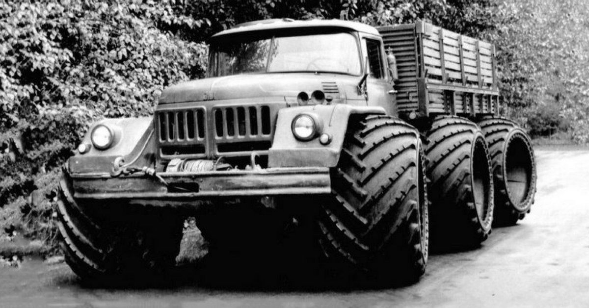 Mental Soviet Cold War Experimental Off-Road Vehicles - 39 Wacky ...