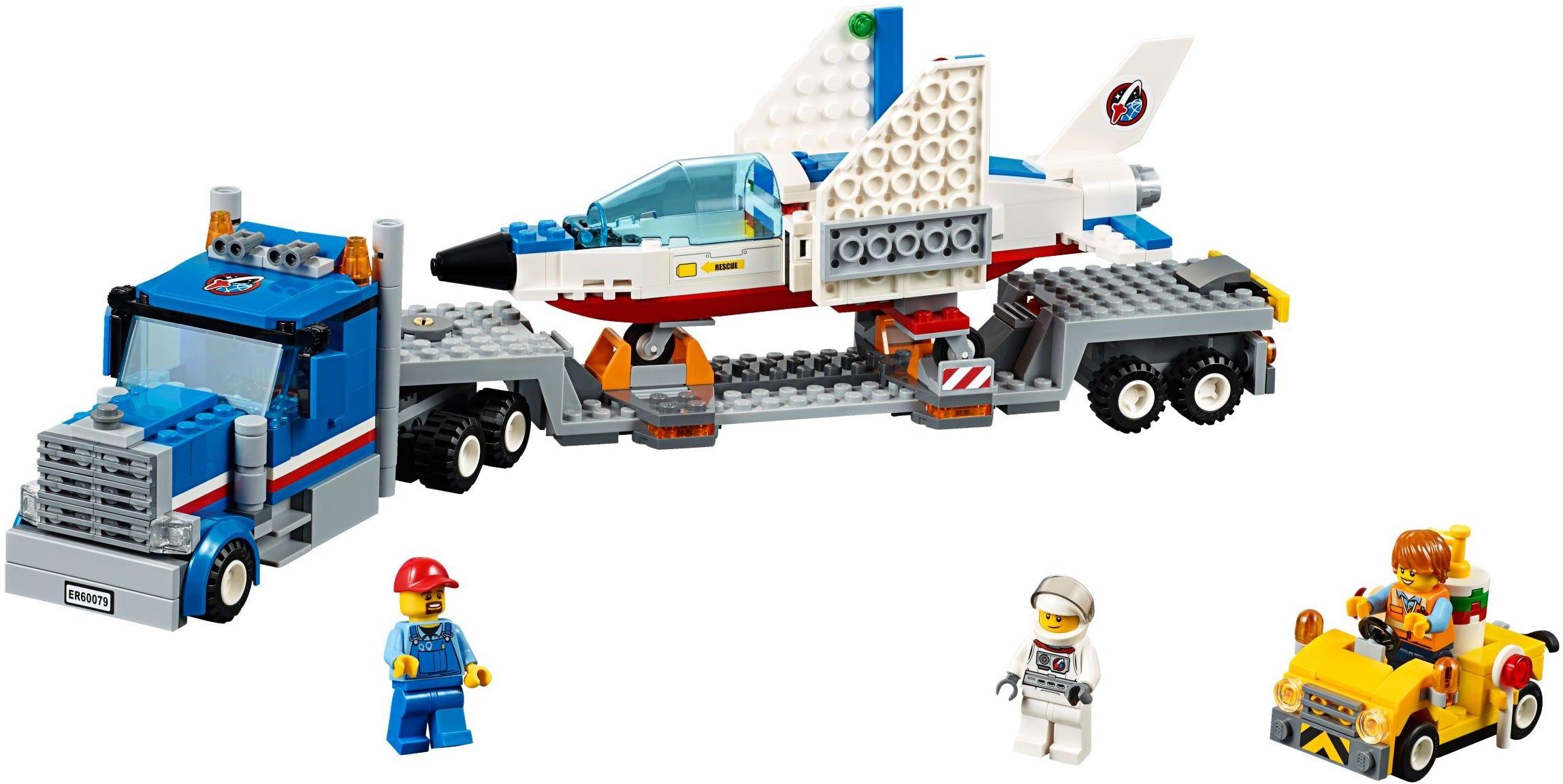 60079 1 Training Jet Transporter In 2020 Lego City Lego City Space Lego City Sets