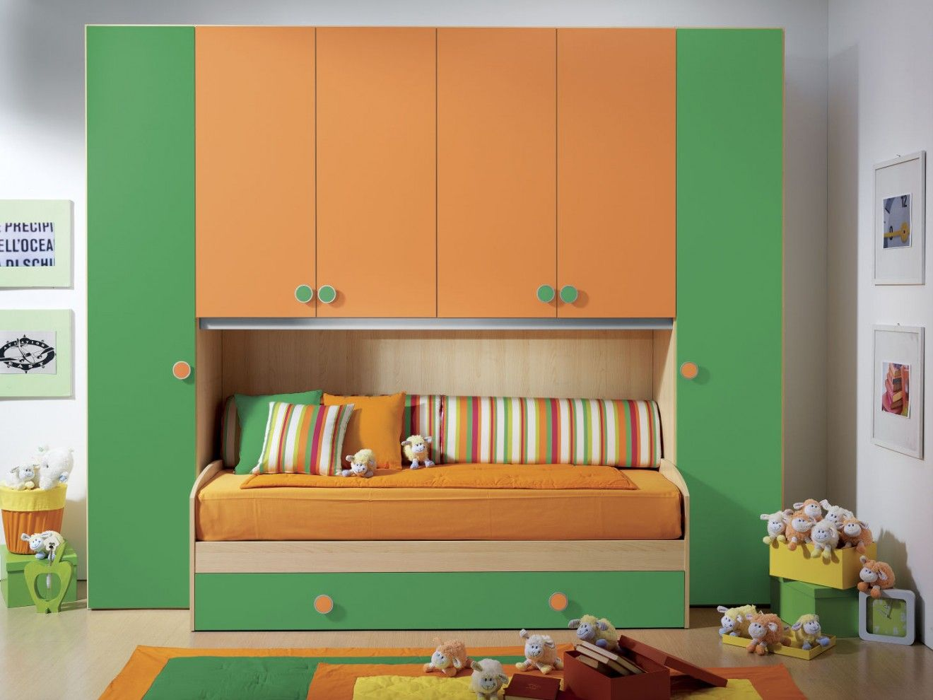 Design Camerette ~ Cameretta a ponte giulio #furnishing #bedroom #camerette #design