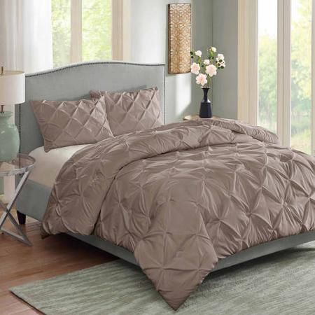 f4eee2c0399f28003fb0b7f3513e4646 - Better Homes And Gardens Pintuck Bedding Comforter Mini Set