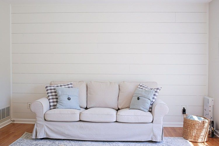 Diy Shiplap Accent Walls Shiplap Wall Diy Diy Shiplap Shiplap Accent Wall