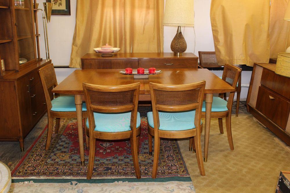 Mid Century Modern Dining Set By Drexel Century Modern