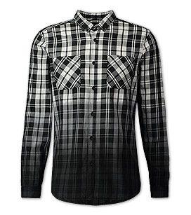 Kariertes Hemd in der Farbe weiss / schwarz bei C&A