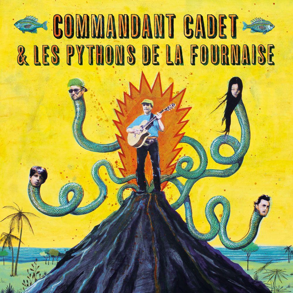 Commandant Cadet & les pythons de la fournaise
