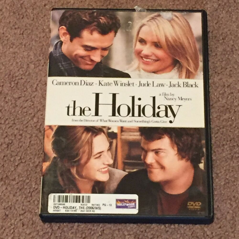 The Holiday (DVD, Movie, Comedy, Widescreen, 2007, PG13