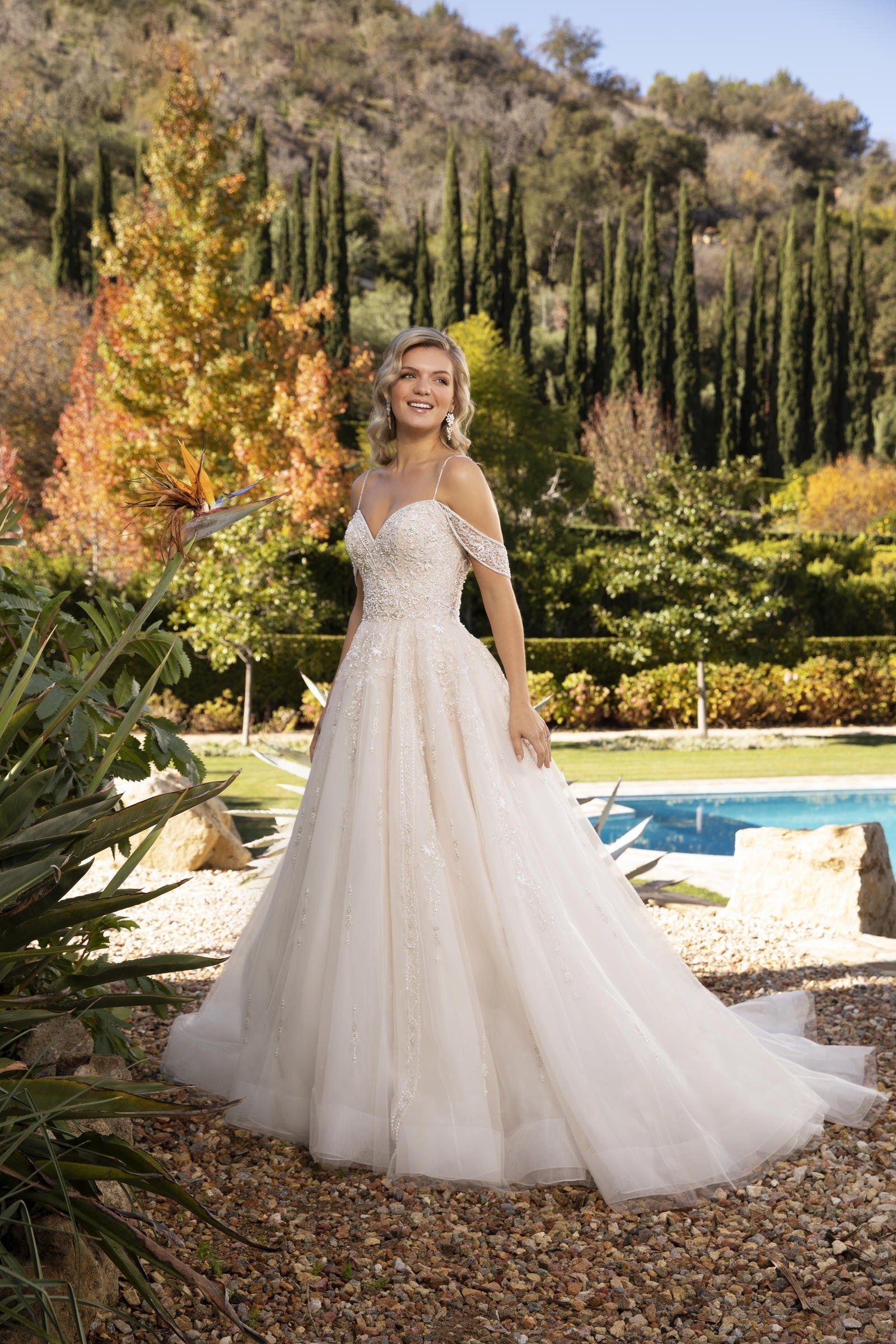 Casablanca Bridal 2389 in 2020 Casablanca bridal gowns