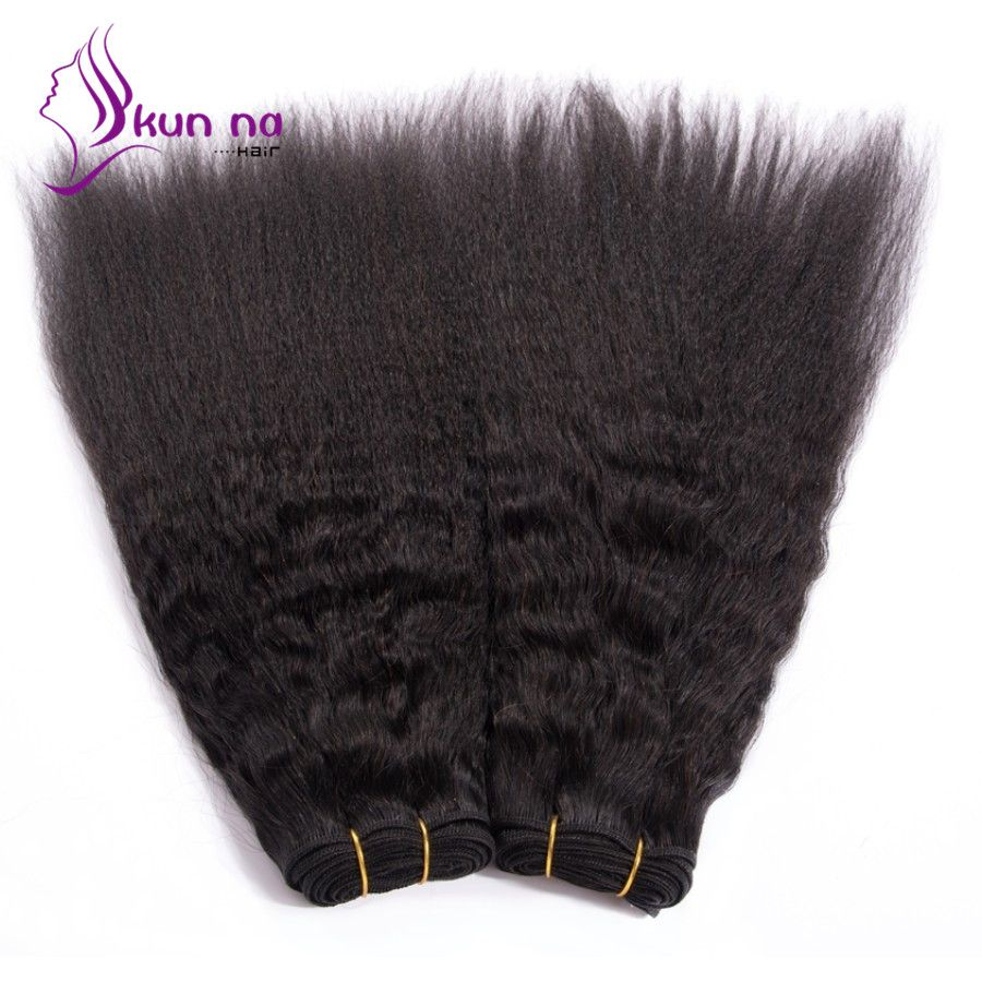 $9.17 (Buy here: https://alitems.com/g/1e8d114494ebda23ff8b16525dc3e8/?i=5&ulp=https%3A%2F%2Fwww.aliexpress.com%2Fitem%2FKUNNA-Brazilian-Kinky-Straight-Hair-Weaves-1pcs-Natural-Black-Kinky-Straight-Virgin-Hair-Wefts-100g-pcs%2F32708151402.html ) KUNNA  Brazilian Kinky Straight Hair Weaves 1pcs #1B Black Kinky Straight Virgin Hair Wefts 100g/pcs Brazilian Virgin Hair for just $9.17