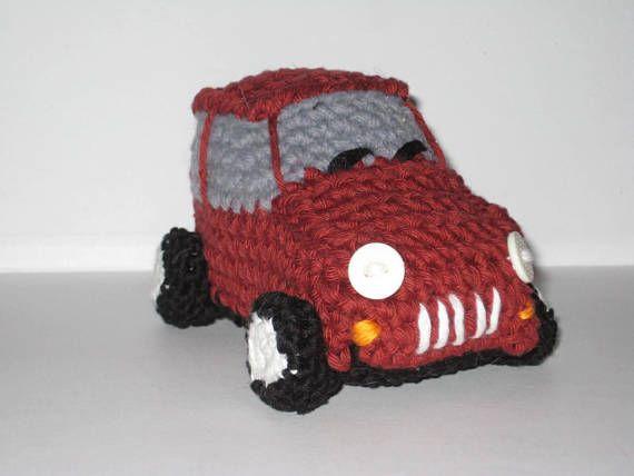 Amigurumi Car Crochet Pattern Crochet Vehicle Pattern Toy Crochet