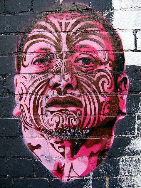 Tame Iti Maori activist graffitti