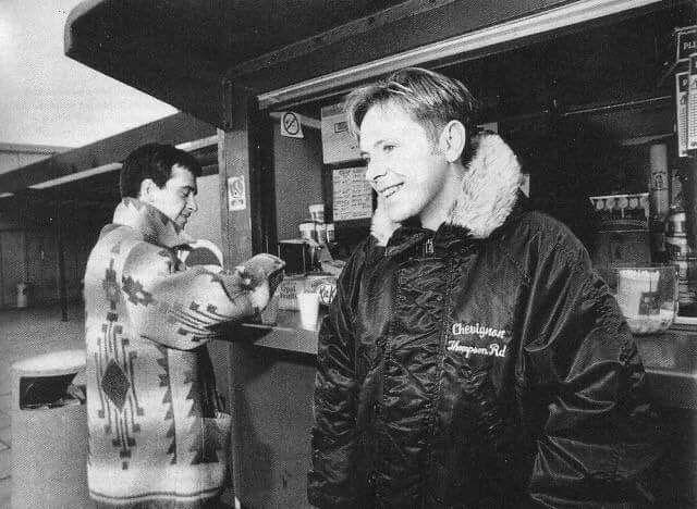 Bernard Sumner And Johnny Marr