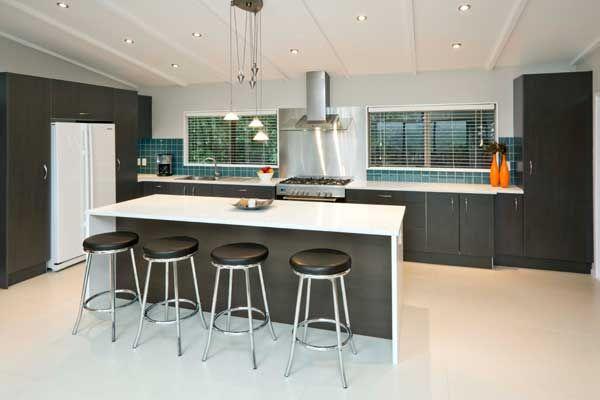 l shaped kitchen with island bench | Kitchen | Pinterest | Island ...
