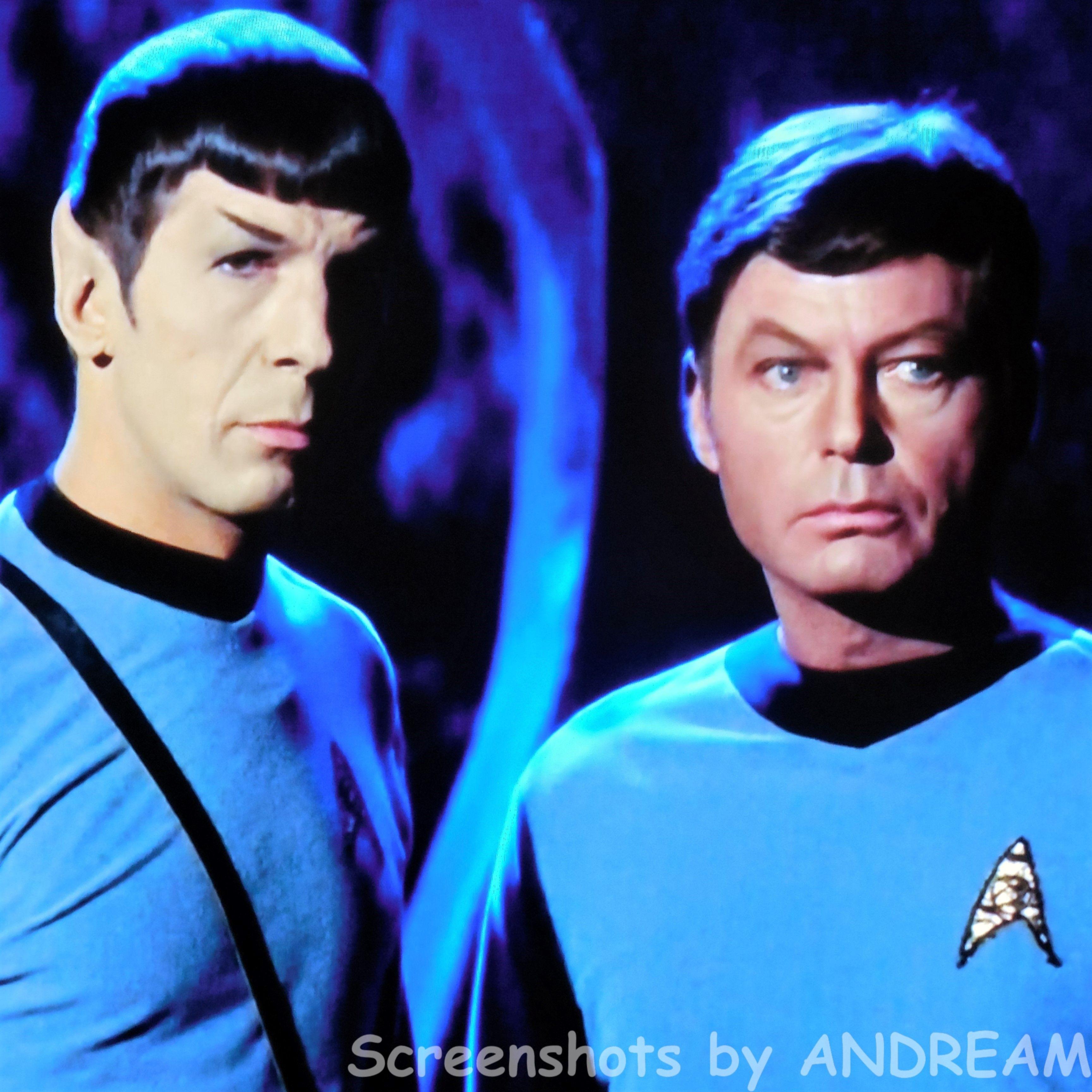 Mr  Spock and Dr  McCoy   STAR TREK    Screenshots that no man has