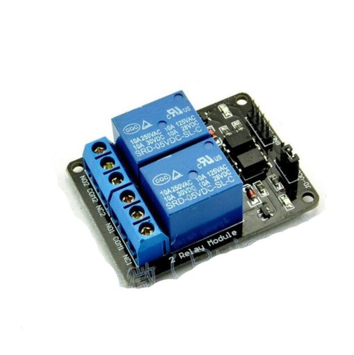 5v 2 Channel No Nc Relay Module Shield Raspberry Srd 05vdc Sl C