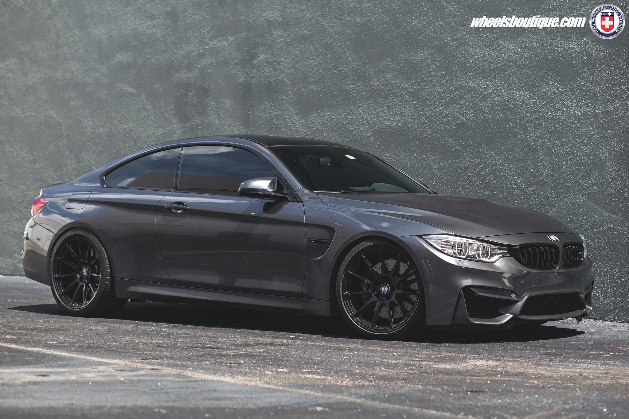 Mineral Gray Metallic Bmw M4 On Hre P43sc Wheels With Images Bmw