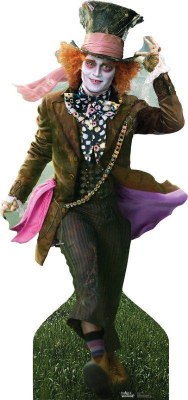 The Mad Hatter - Johnny Depp (Disney's Alice In Wonderland) (2010) - Lifesize Cardboard Cutout / Standee £29.99