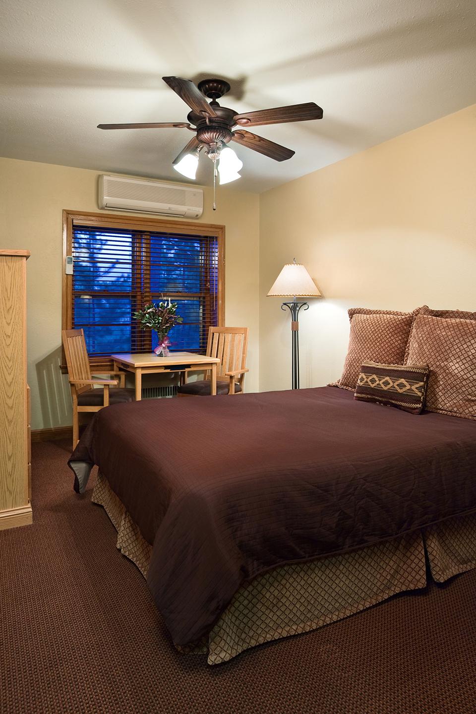 Lodge Room (Queen) Sylvan Lake Lodge Home decor, Room