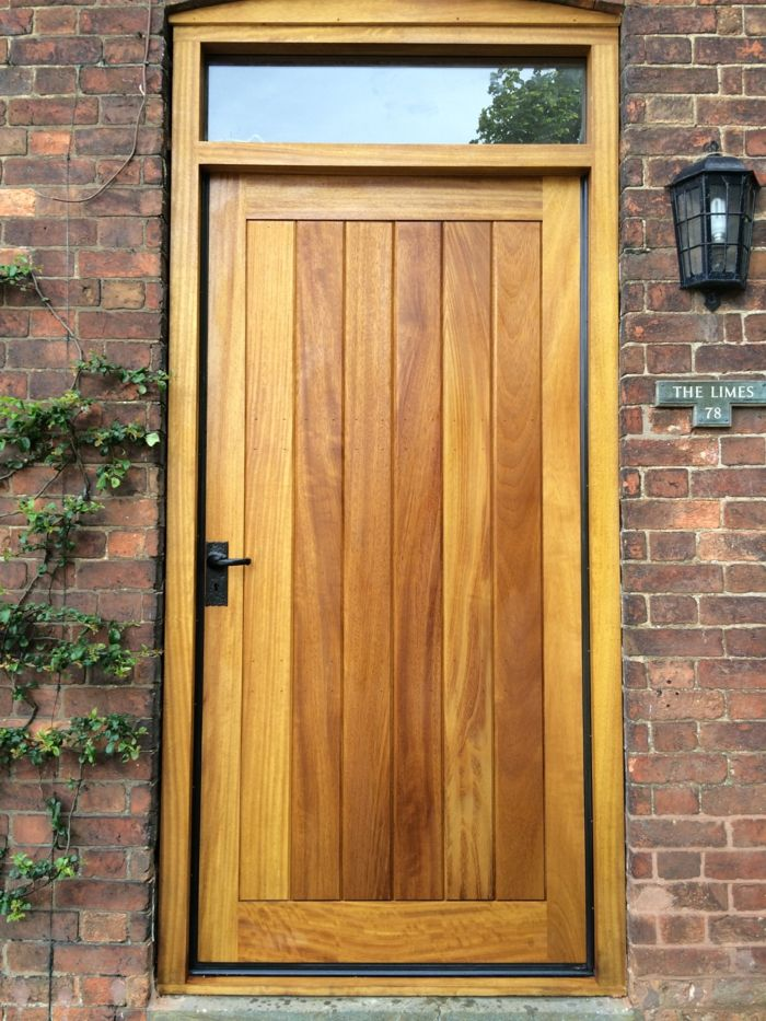 Holztüren Selber Bauen haustür aus holz haustür selber bauen türen lackierung doors