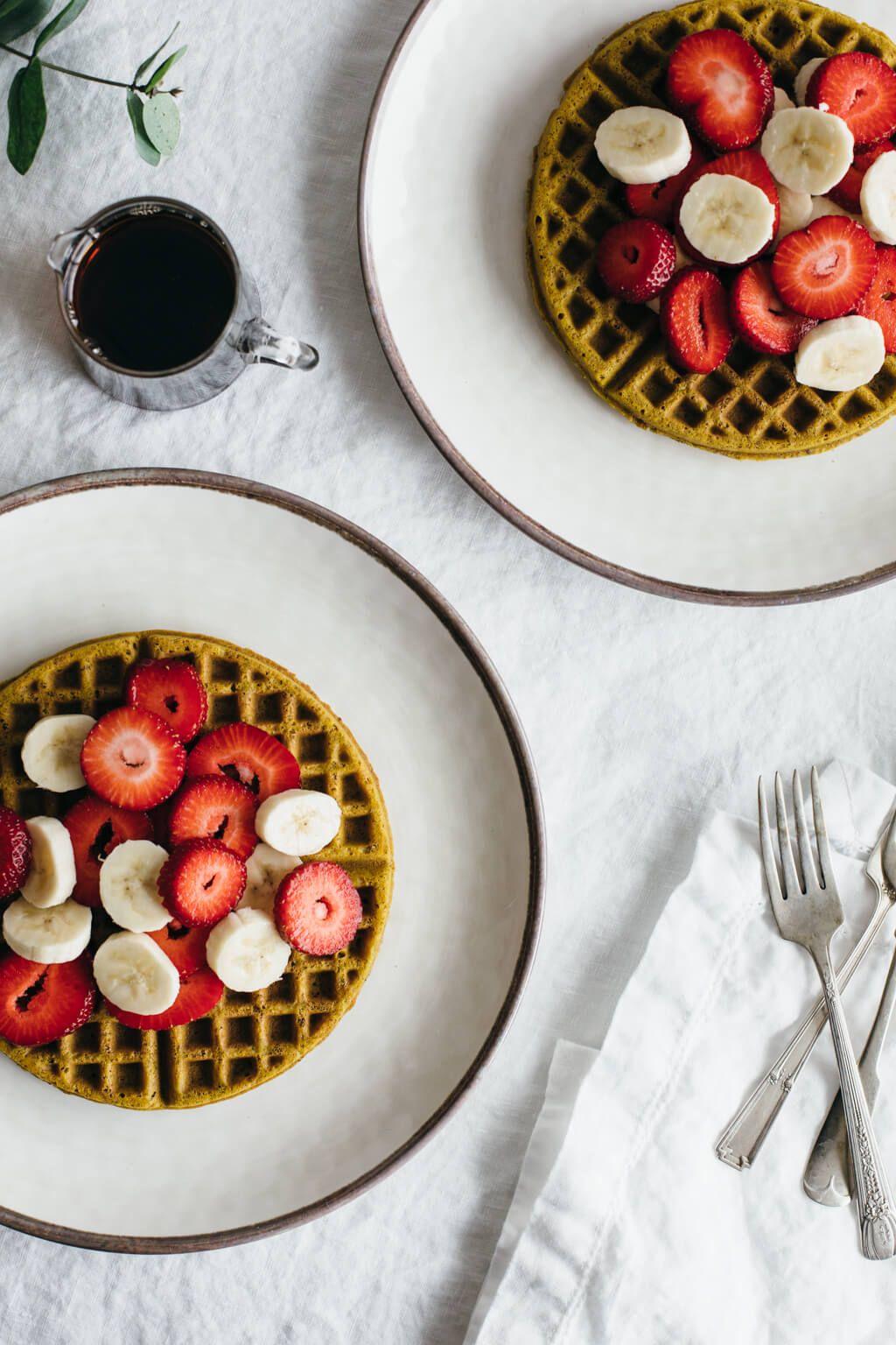 Super Seed Buckwheat Waffles Gluten Free Vegan