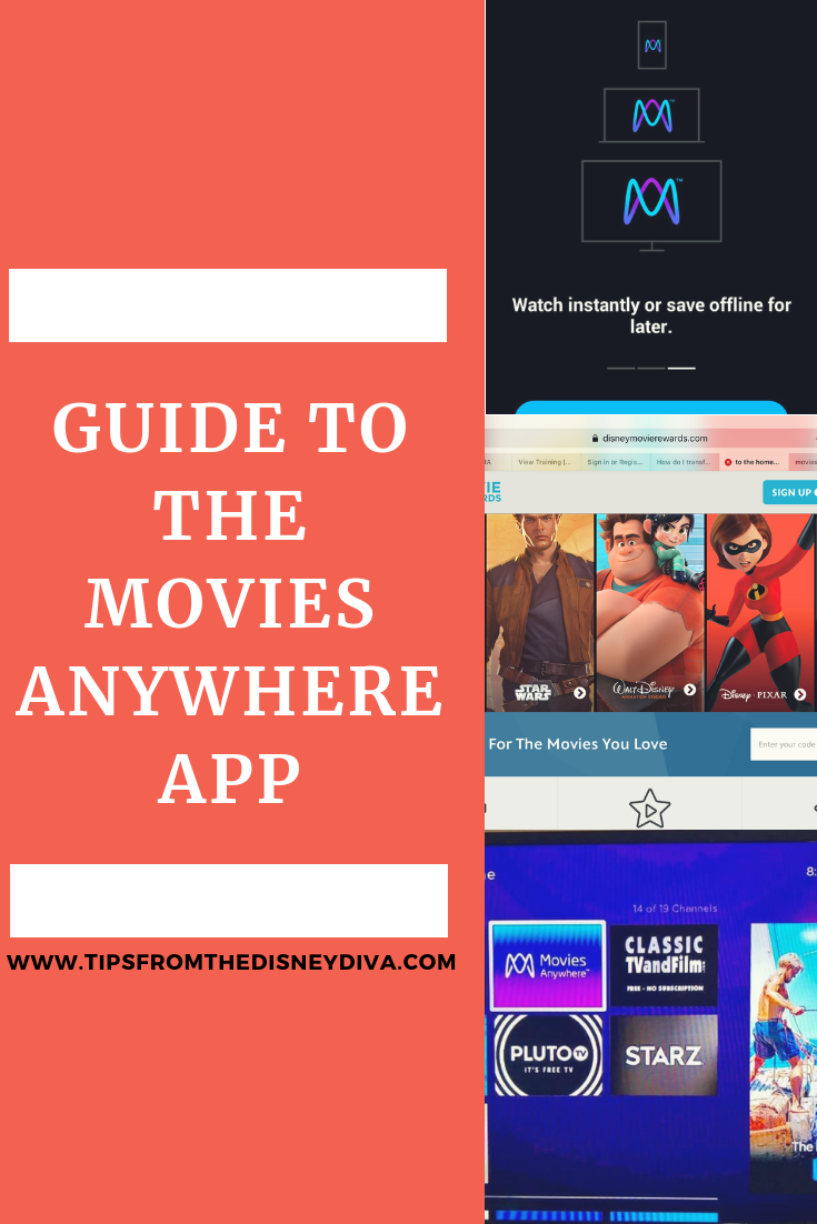 Guide to the Movies Anywhere App (With images) Disney